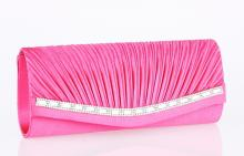 Pinkki clutch laukku