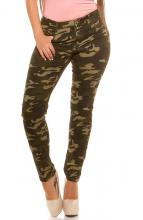 Camouflage stretchjeans