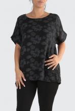 Musta-kukallinen paita