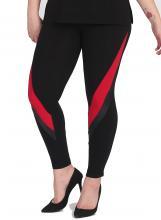 Musta-punaiset leggingsit