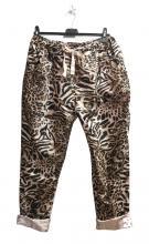 Roosat housut leopardi-printillä