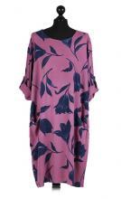 Lila-tulppaani mekko