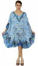 Sininen poncho-mekko