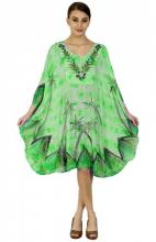 Vihreä poncho-mekko