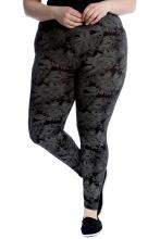 Harmaa-kukalliset leggingsit